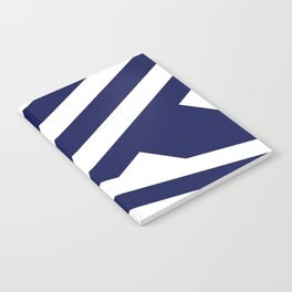 Nautical Stripes Notebook