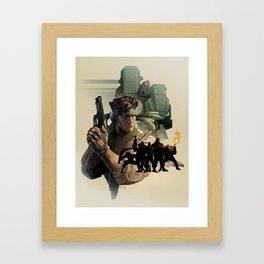 METAL GEAR Framed Art Print