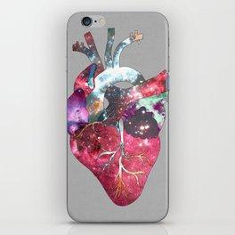 Superstar Heart (on grey) iPhone Skin