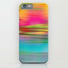 Abstract Sunrise Slim Case iPhone 6