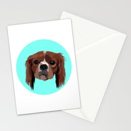 George the King Charles Spaniel Stationery Cards