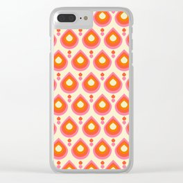 Drops Retro Sixties Clear iPhone Case