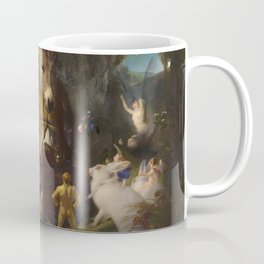 Scene from A Midsummer Night's Dream. Titania and Bottom by Edwin Henry Landseer (1848) Coffee Mug