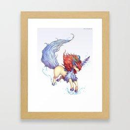 Ke Framed Art Print