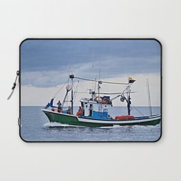 Traditional fishing boat off Tenerife in the Canary Islands Laptop Sleeve