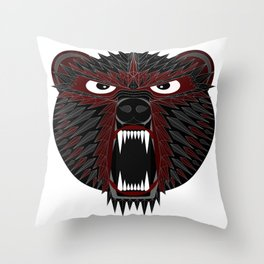 BT Bear Throw Pillow