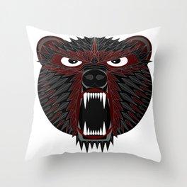 BT Bear Throw Pillow
