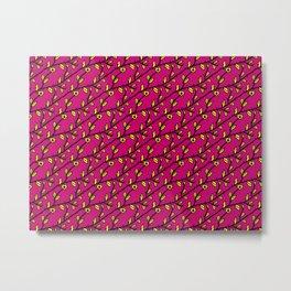 Patterns: Yellow Flowers Metal Print