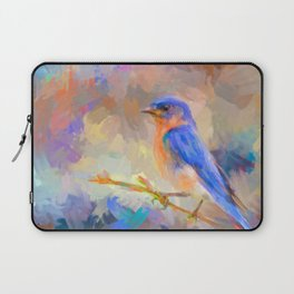 Bring On The Bluebirds Laptop Sleeve