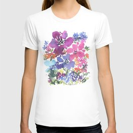 Pretty Poppy Patch T-shirt