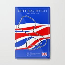 Brands Hatch Metal Print