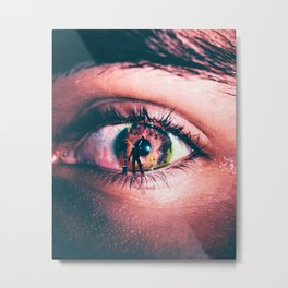 Eye Color Metal Print