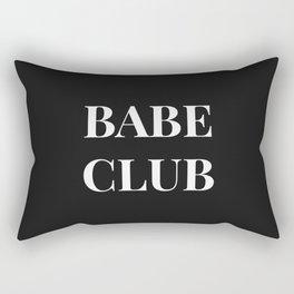 Babeclub black Rectangular Pillow