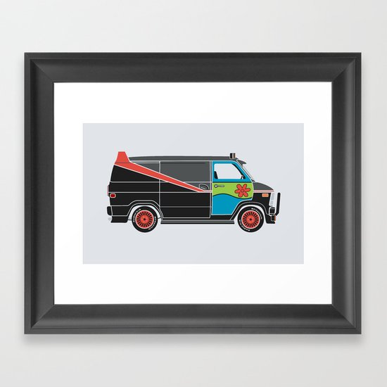 The Mess Up At The Body Shop Framed Art Print