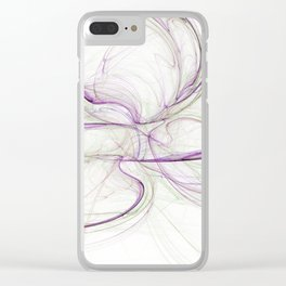 The Frequency of Desire (Inverted) Clear iPhone Case