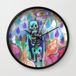 crying for a million onions Wall Clock