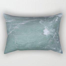 Below Niagra Falls Rectangular Pillow