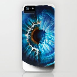 """Crystal Geode Eye"" Drawing iPhone Case"