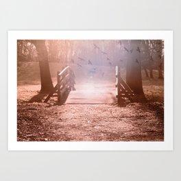fantasy garden °3 Art Print