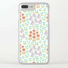 Rudbeckia Clear iPhone Case