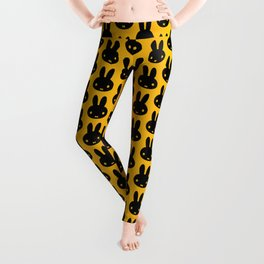 bunnies everywhere ultra pattern Leggings