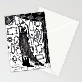 Ash Pale / Snow White Stationery Cards
