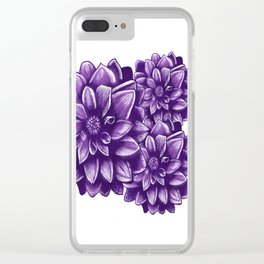 Flowers V.1 Clear iPhone Case