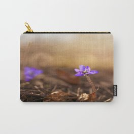 Come with me  Hepatica Forest #decor #society6 Carry-All Pouch