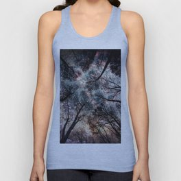 Starry Sky in the Forest Unisex Tank Top