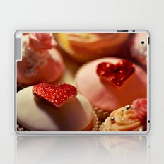 heart cupcakes Laptop & iPad Skin