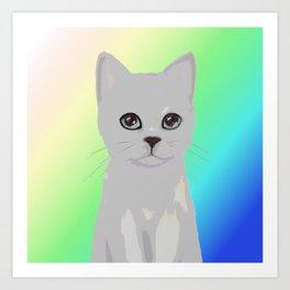 cat3 Art Print