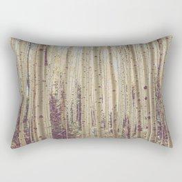 Aspen Forest Rustic Photography Rectangular Pillow