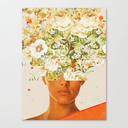 SuperFlowerHead Canvas Print