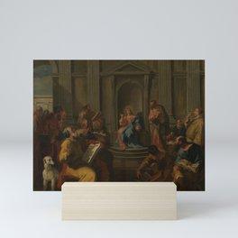Sebastiano Ricci - Christ Among the Doctors in the Temple Mini Art Print