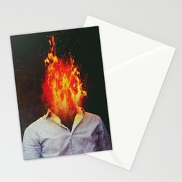 A Fire You Can't Stop Stationery Cards