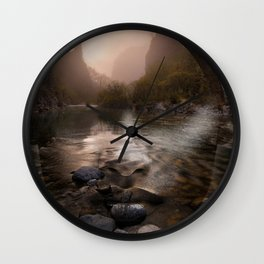 Bridge girl Wall Clock