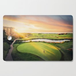 Golfing at the 'Gong Cutting Board