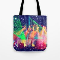 tool Tote Bags featuring Tool  by Alicia