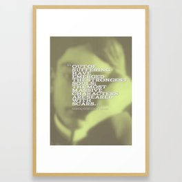 Most Inspiring Kahlil Gibran Quotes - 26 Framed Art Print