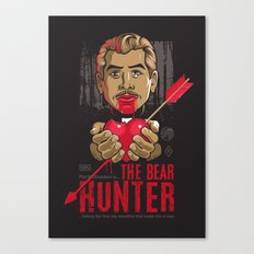 Ray: The Bear Hunter Canvas Print