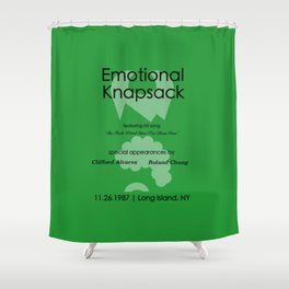 Emotional Knapsack - Friends Shower Curtain