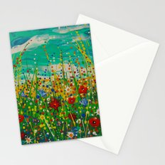 Flowers of happiness Stationery Cards