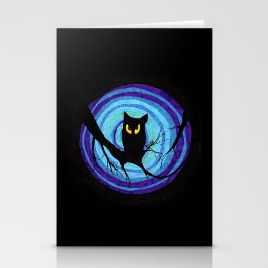 time for child stories: the EVIL OWL Stationery Cards