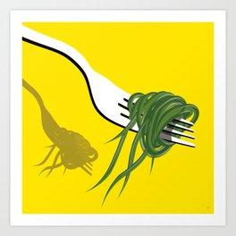 Grass Eaters Art Print