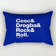 Cesc&Drogba&RocknRoll Rectangular Pillow
