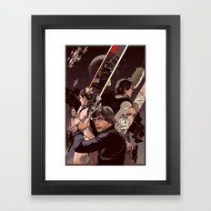 Duel of Fates Framed Art Print