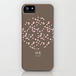 spring - brown iPhone Case