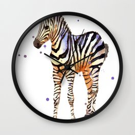 Striped Sweetie Wall Clock