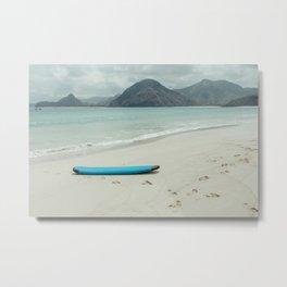 Lombok beach Metal Print