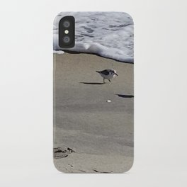 Bird beach time iPhone Case
